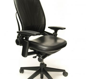 a-53-black-leather-chair-tall