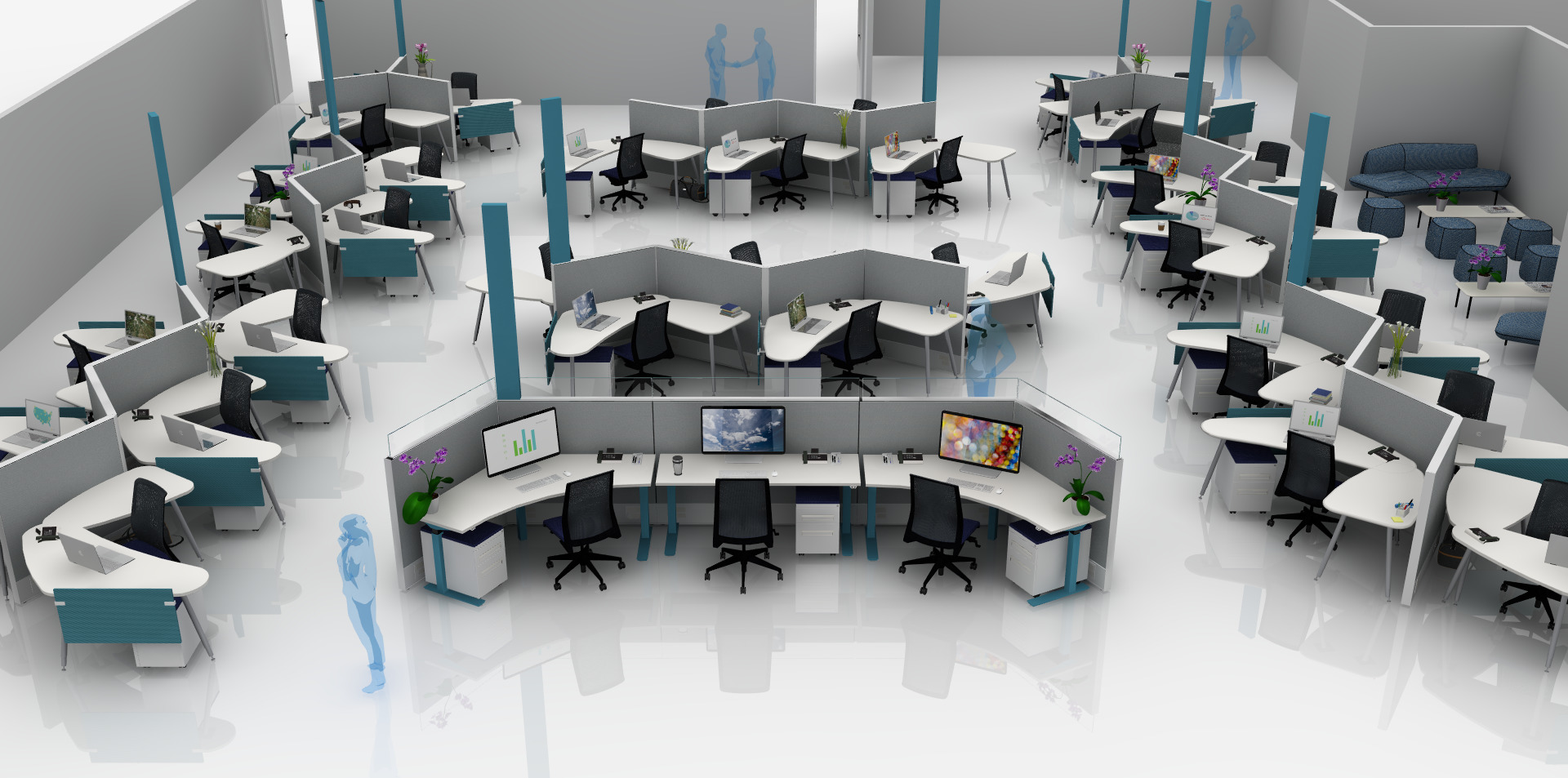 flexible office furniture. our specialists work with you to find flexible solutions configured optimize space and maximize natural office furniture d