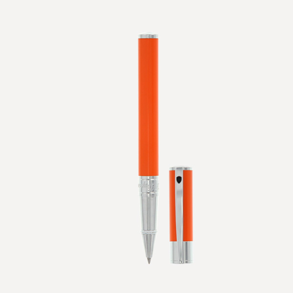 ROLLERBALL-D-INITIAL-ORANGE---CHROME-(262209)